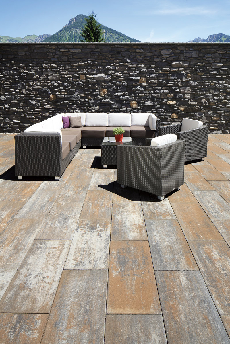 Terrassenplatten Delgado KBH-Feinoberfläche