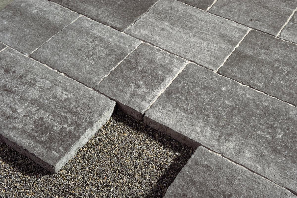 Antara Multiformatplatten Strukturiert und Getrommelt - Terrassenplatten - 0