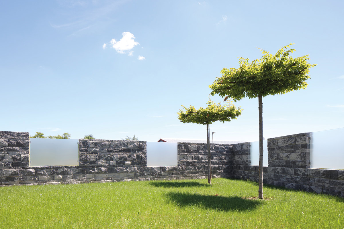 Cantera-Tres Getrommelt - Mauersysteme - 2